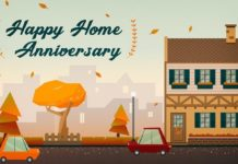 anniversary at home
